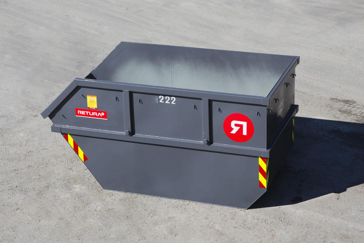 10 m3 liftcontainer